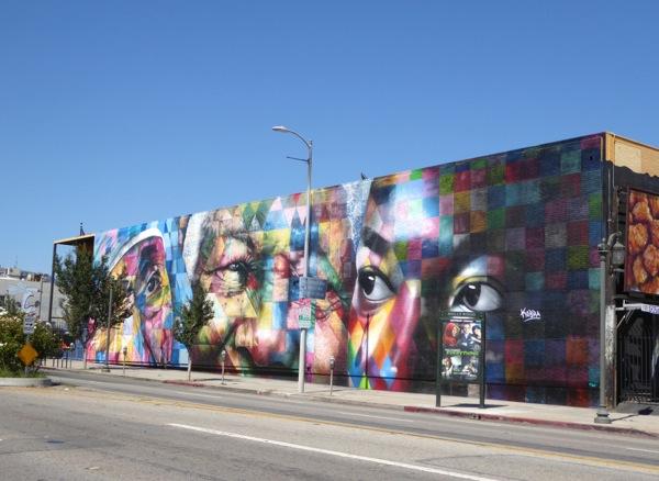 Kobra mural highland avenue for Abercrombie mural