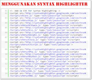 Syntax Highlighter,SyntaxHighlighter