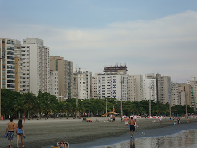 Praia do Gonzaga, Santos - SP