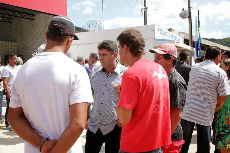Líderes comunitários prestigiam inauguração do quartel dos bombeiros em Bonsucesso