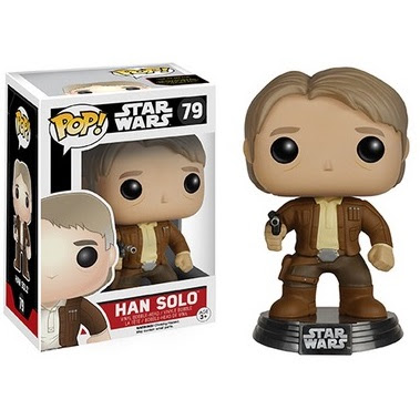 Star Wars: The Force Awakens Pop! Series 2 by Funko - Han Solo