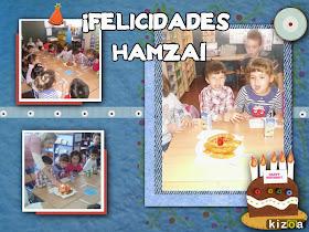 CUMPLEAÑOS DE HAMZA