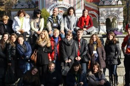 Partner team in Bulgaria-26-30 November 2012