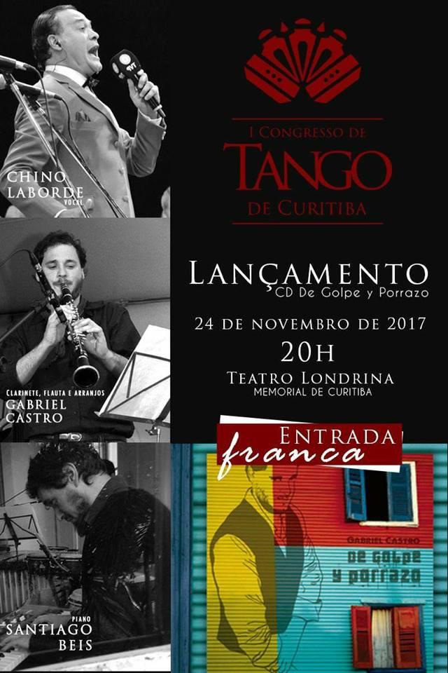 Gabriel Castro, músico da Orquestra À Base de Sopro lança CD.