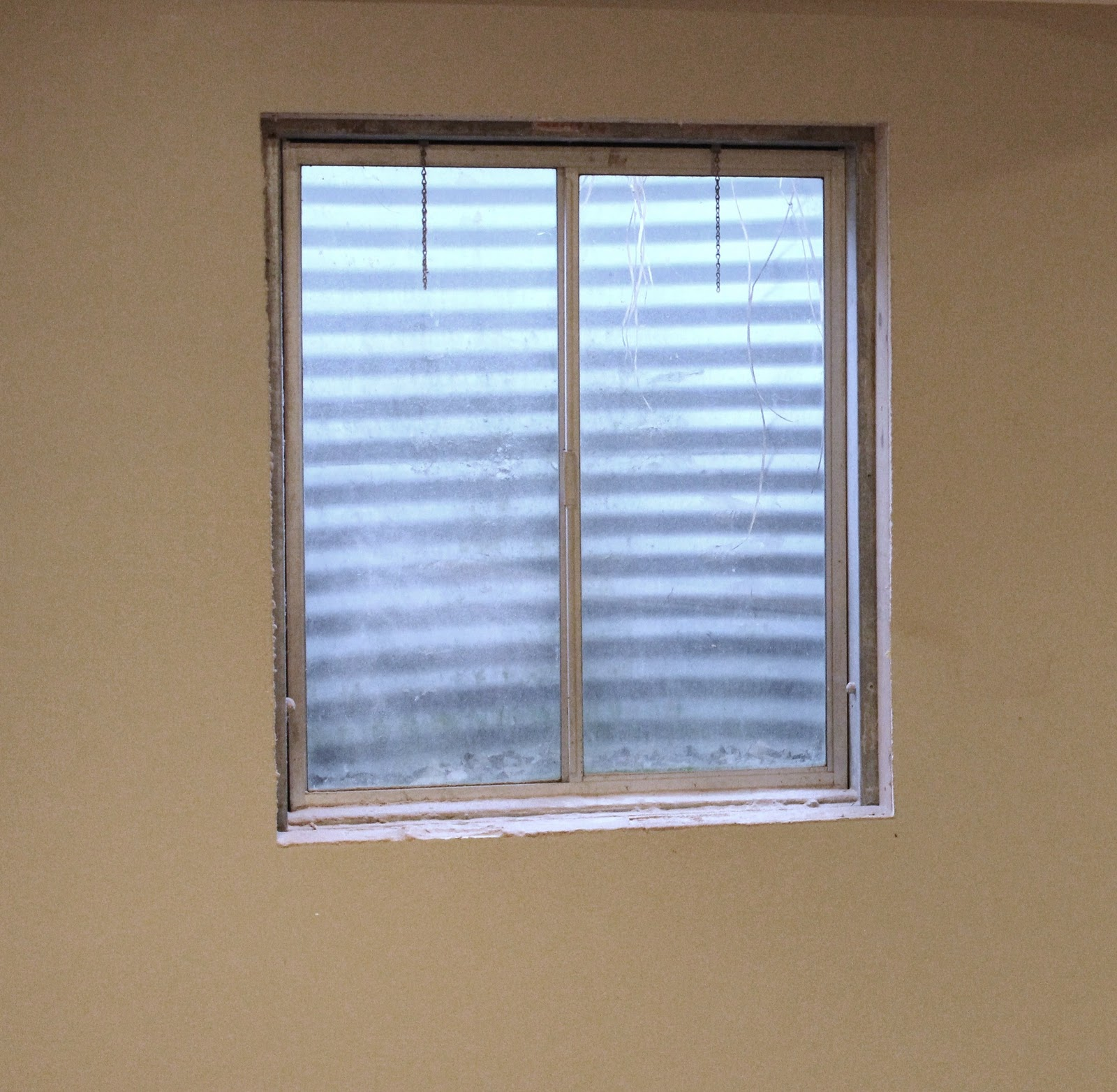 Covering Unsightly Window Views Guest Post From Sawdust