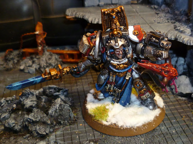 Grey Knight Librarian Terminator Conversion