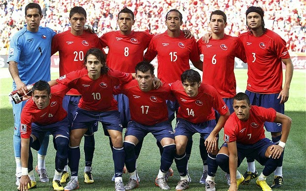 Squad Lists (Chile)- FIFA 2014