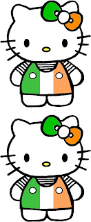 Hello Kitty Happy St Patrick's Day
