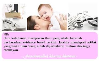 Checklist penkes kebutuhan ibu gizi ibu nifas