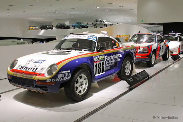 Porsche 959 Paris Dakar, 1986 г.