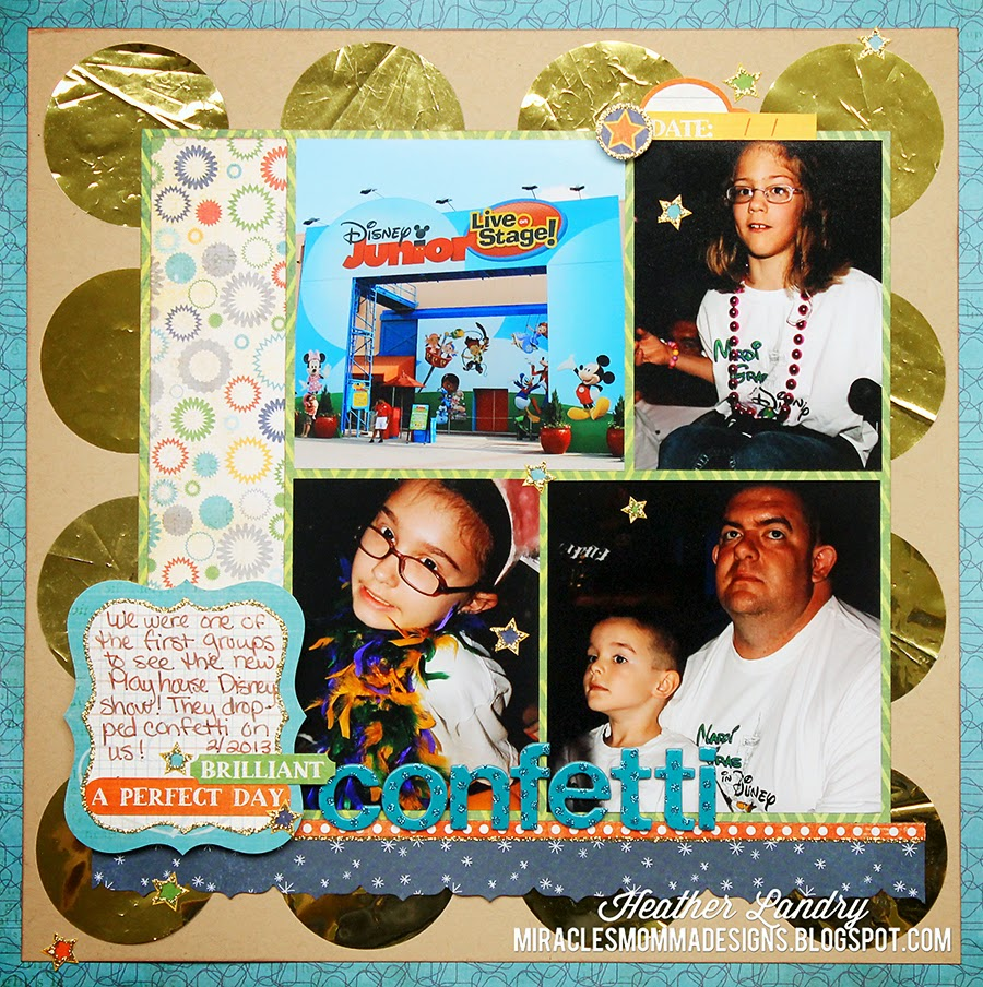 Playhouse Disney_Scrapbook Page_Hollywood Studios