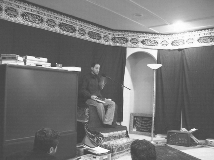 Rafic Labboun (a.k.a. Wilhelm Dyck) preaching at Fatimiyya Islamic Center of Hayward, CA.
