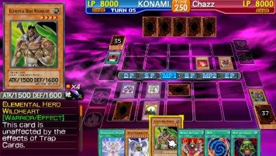 Yu Gi Oh GX Tag Force 3 psp
