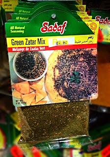 Sadaf Green Zatar Mix at Pars Market