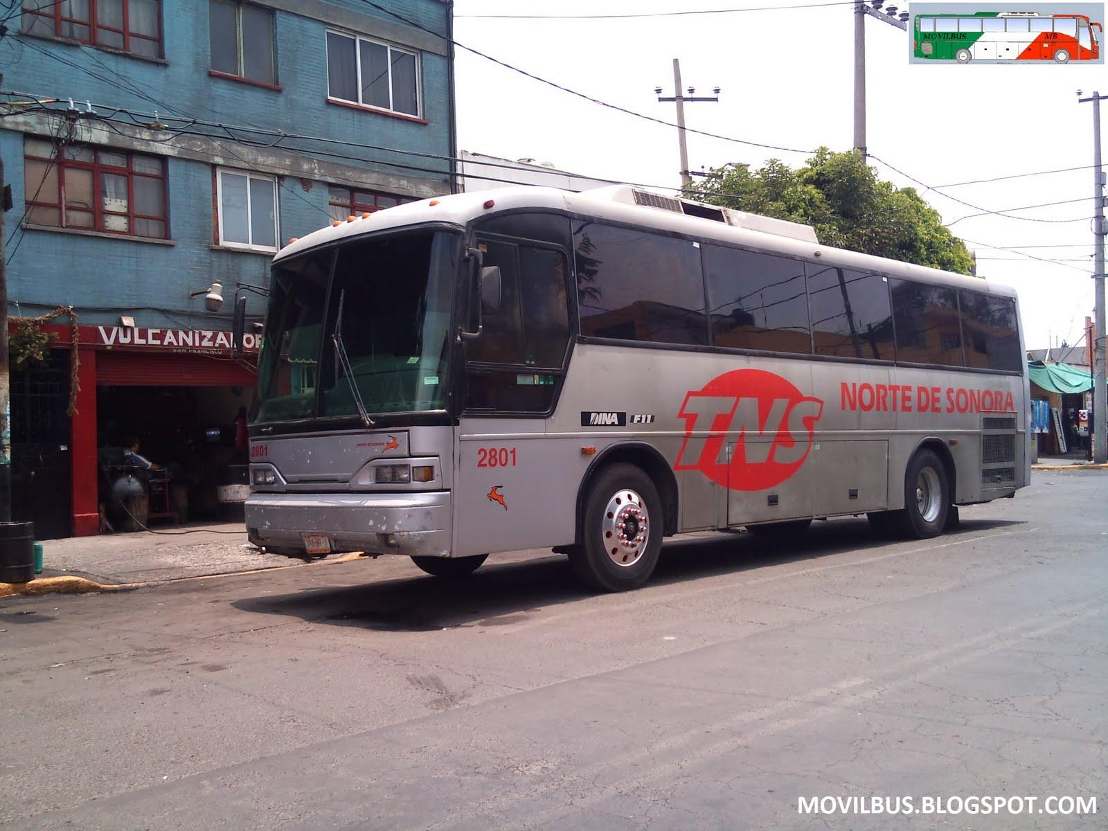 Movilbus mci dina f 11 transportes norte de sonora - Autobuses larga distancia ...