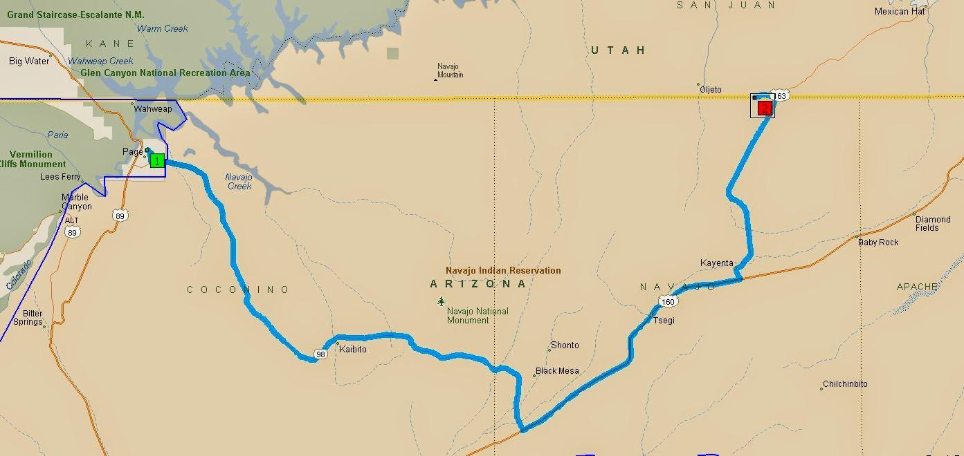 az to Monument Valley ut