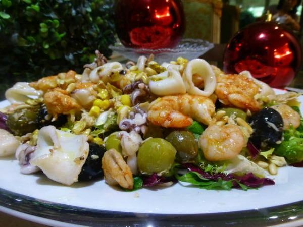 Propuesta de menú de Navidad Light con carne