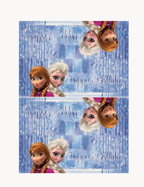 Frozen Treat Bag Toppers Printable Free