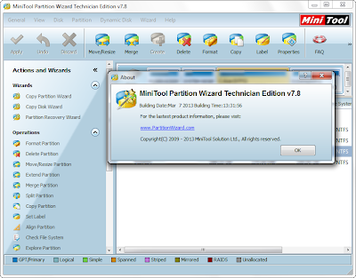 MiniTool Partition Wizard Technician Edition 7.8 + Boot ...