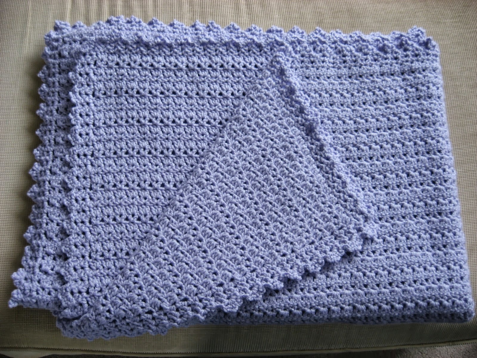 Crochet Afghan Pattern For Wedding Gift : Hooked on Needles: Marys Wedding Gift Afghan ~ Finished ...
