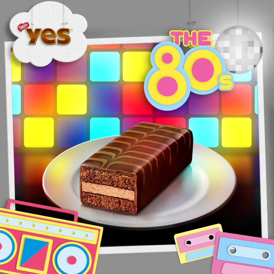 Yes 80s gateaux yes - Gateau annee 80 ...