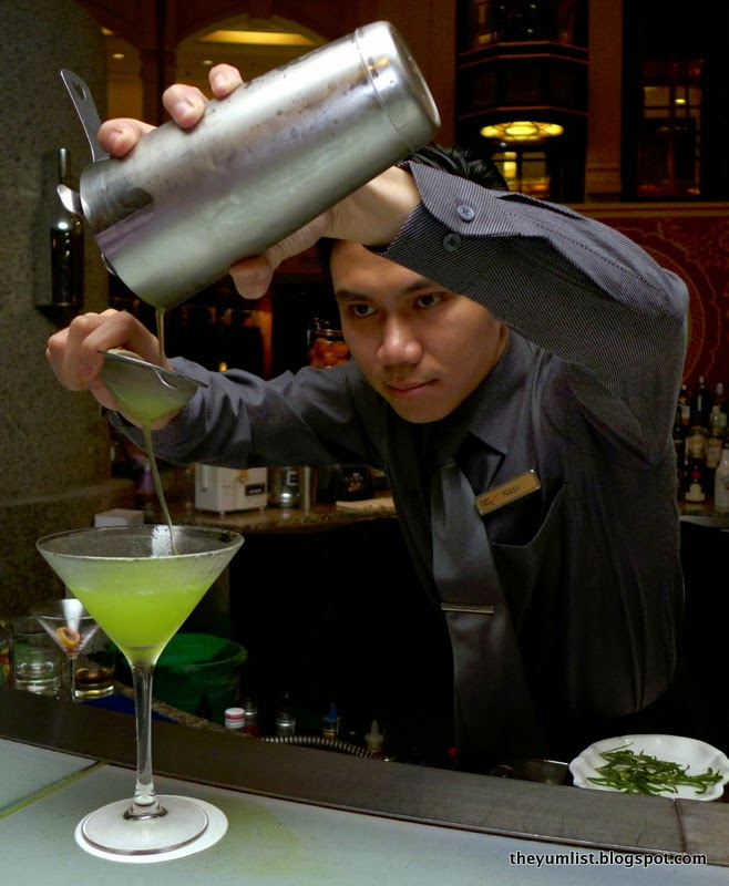 bartender mixing