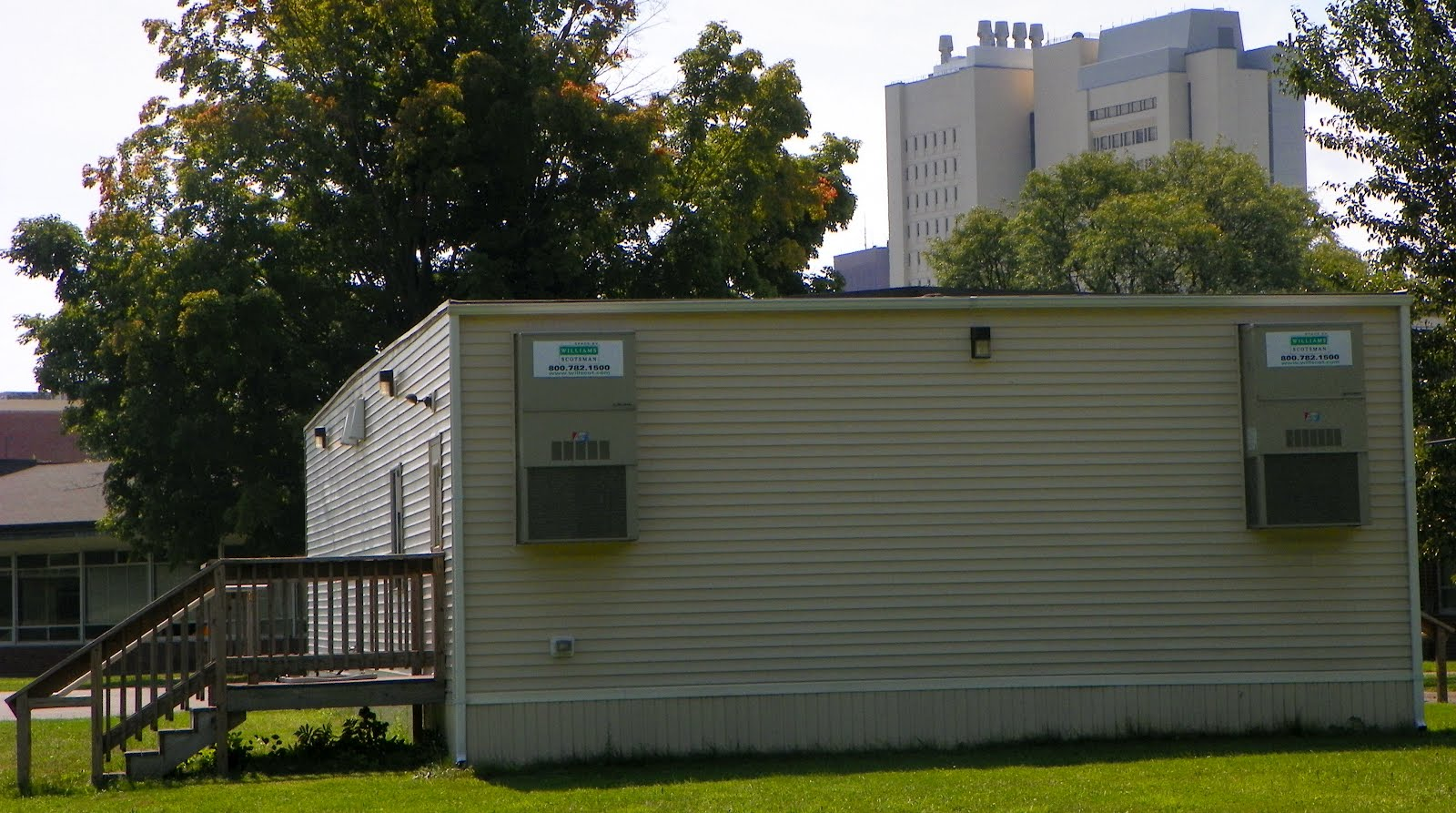 Modular Classroom Nc : Only in the republic of amherst a tale two modulars