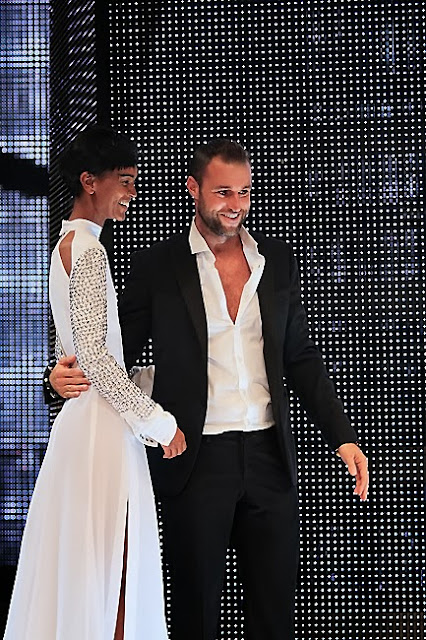 Philipp Plein with Liya Kebede