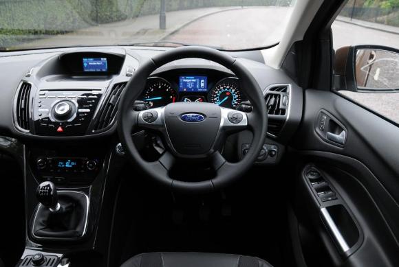 Ford kuga интерьер фото