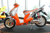 Modifikasi Honda Beat Thailand
