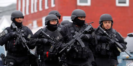Kronologi detik-detik penangkapan tersangka Bom Boston