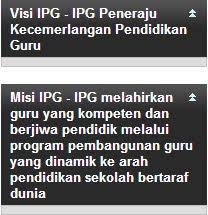 Visi Misi IPG
