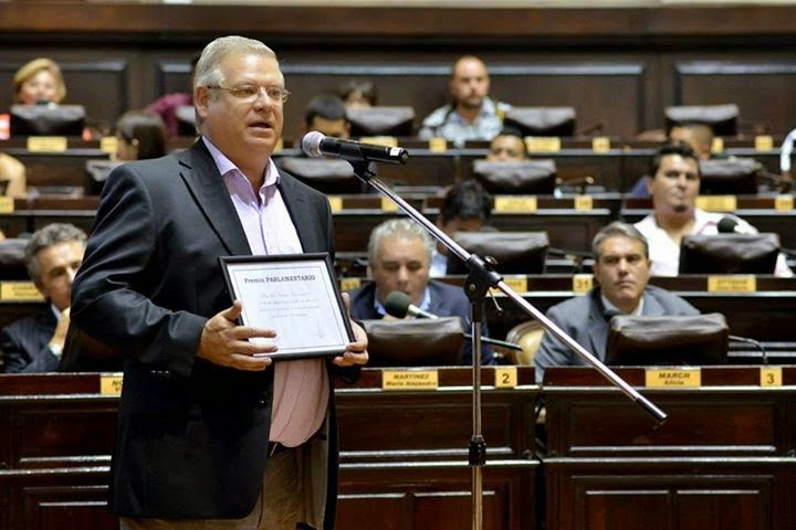 Abel Buil fue reconocido como uno de los legisladores mas laboriosos del 2014