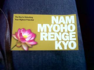 Serendipity!: Nam Myoho Renge Kyo .... Meaning