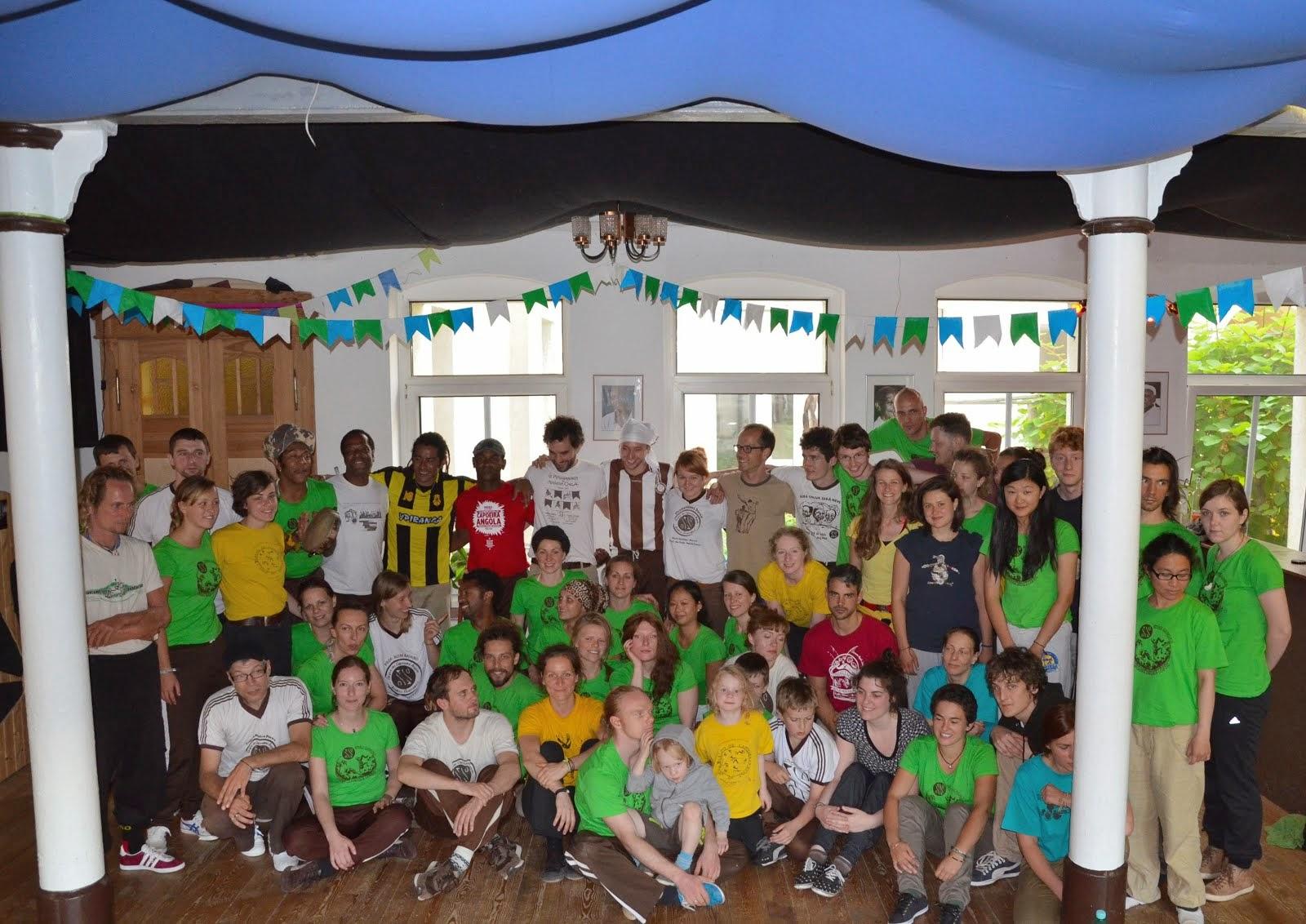 IV. Aniversario de Grupo Capoeira Angola Leipzig Juni 2014