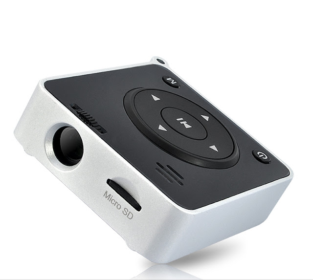 Portable Handheld Mini Projector With Built-in MP4 Player