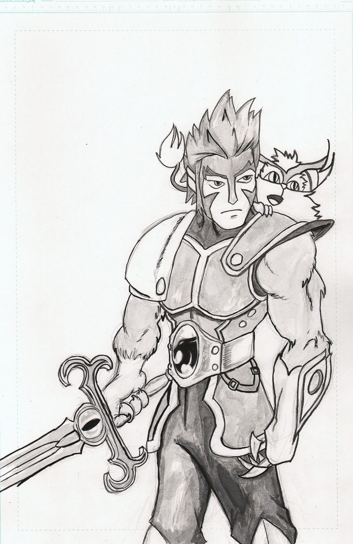 How To Draw Lion O Thundercats Lion O Step 7 Apps Directories