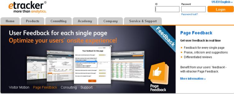 Etracker Web Analytics tool