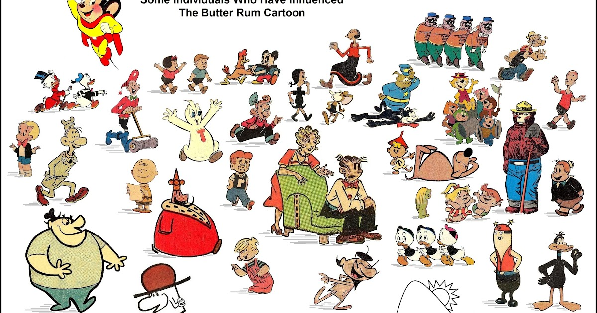 The Butter Rum Cartoon: CAN YOU NAME THESE COMIC BOOK