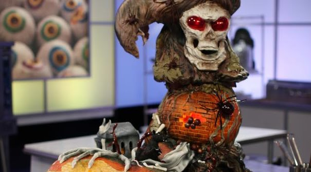 Halloween Cake Competition Food Network