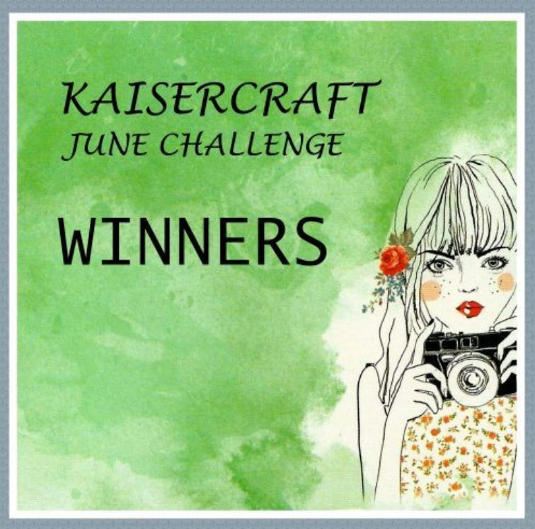 Kaisercraft June 2016 Challenge Winner
