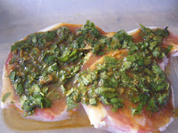 Tupperware marinade pork chops