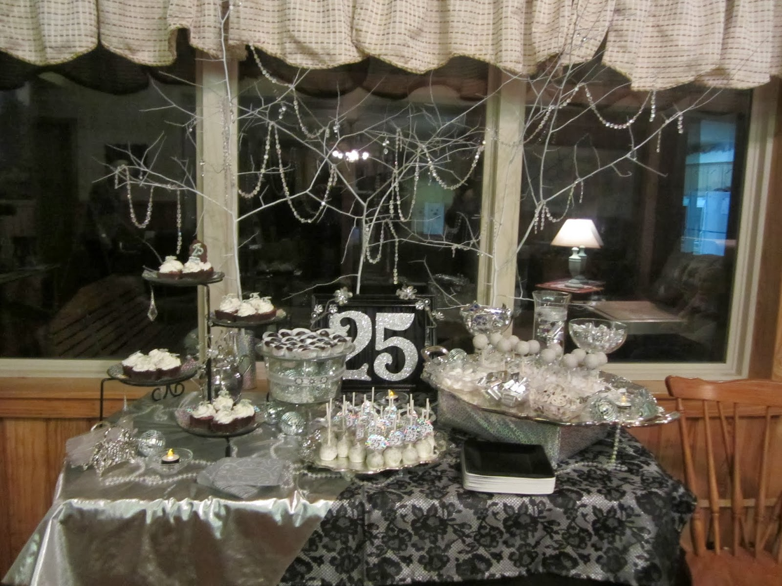 Life 39 s simplicity the silver quarter 25th birthday for 25th birthday decoration ideas