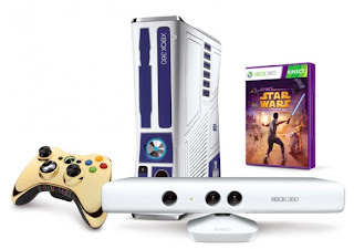 XBOX 360 Star Wars Kinect Console