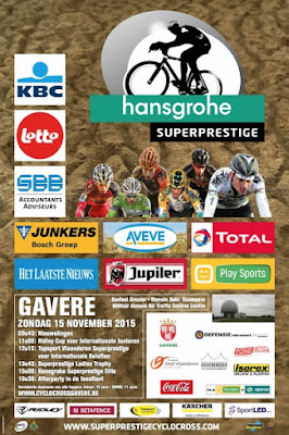 Affiche cyclo-cross gavere 2015