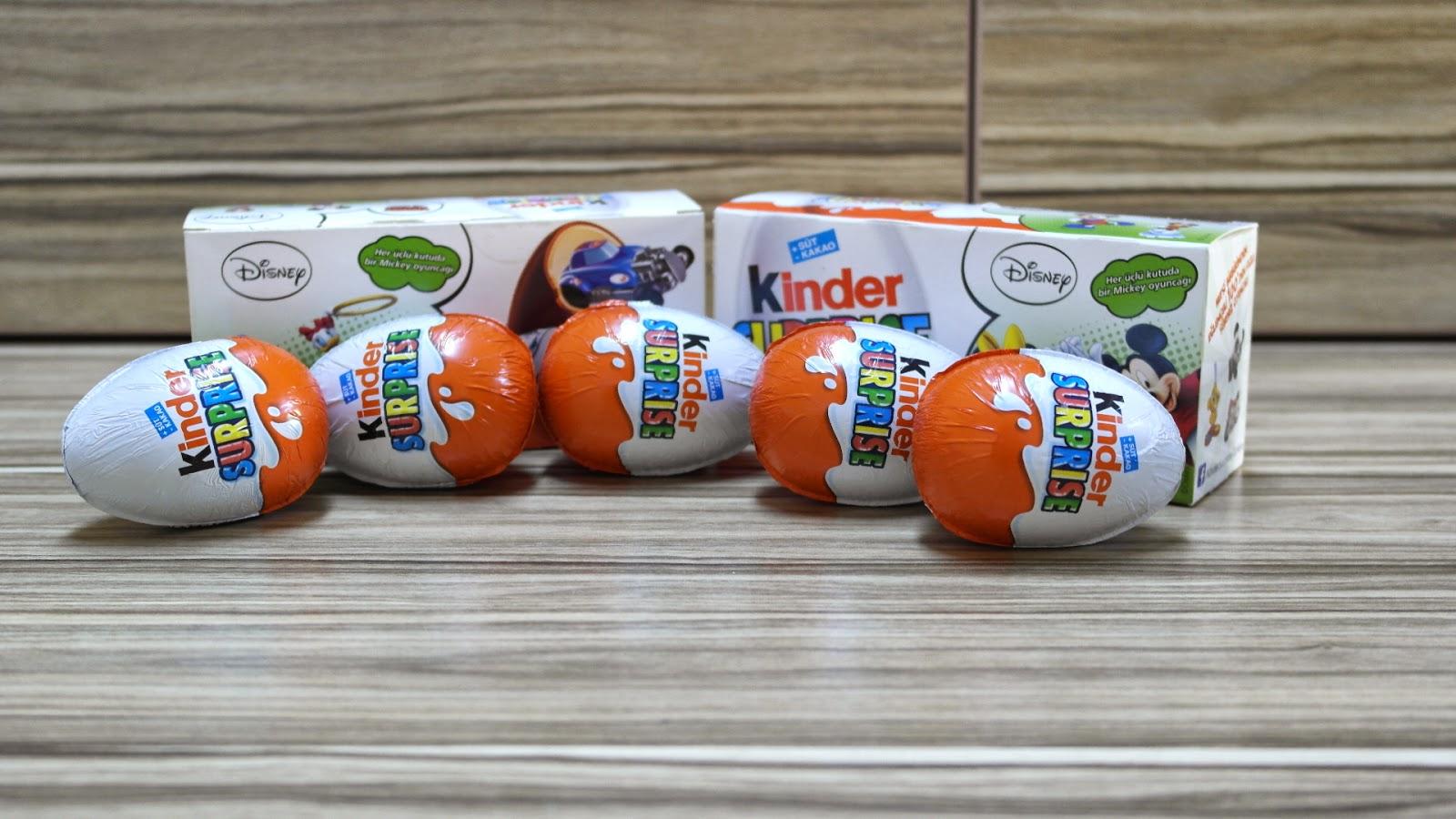 Disney Oyuncağı Çıkan Kinder Sürpriz Yumurtaları