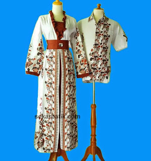 Foto Baju Batik Muslim Jogja