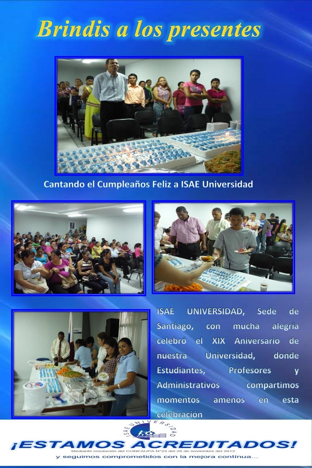 ... se une a la gran celebración del XIX Aniversario de ISAE Universidad