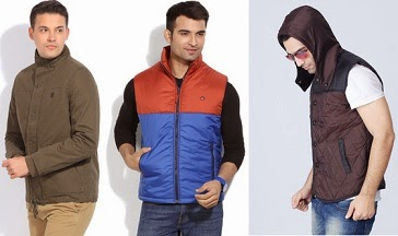 Men's Branded Jackets Full / Half Sleeve : Upto 40% Off + Extra 30% Off @ Flipkart