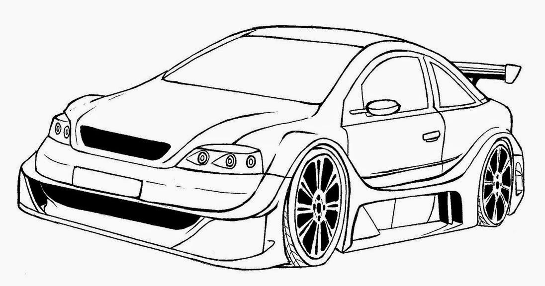 Desenhos de Carros para colorir, jogos de pintar e imprimir